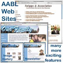 screen shots of web sites